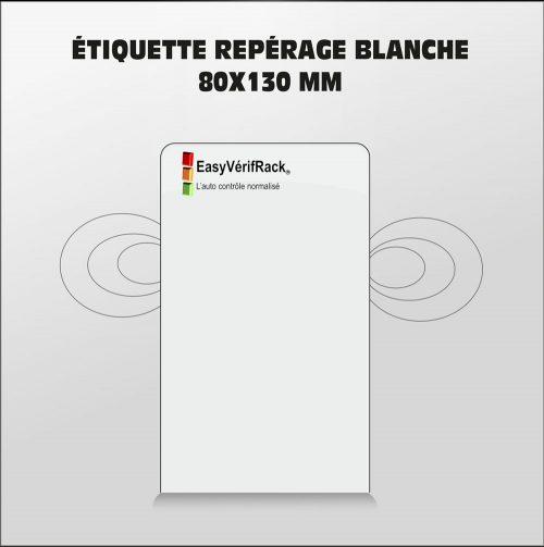 Etiquette 75×120 blanche – VENDUE PAR 50