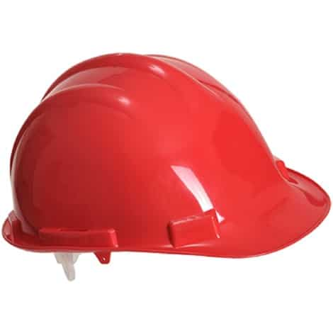 Casque de chantier Portwest rouge