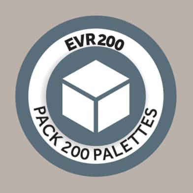 Pack 200 palettes