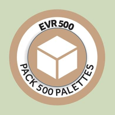 Pack 500 palettes