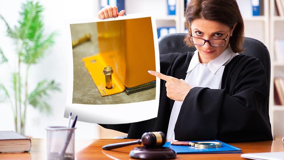 inspection des racks à palettes et obligation légale