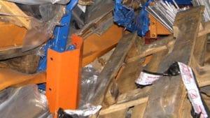 sécurité entrepôt accident du travail